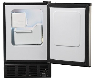 Sunpentown IM-150US opend Ice Machine