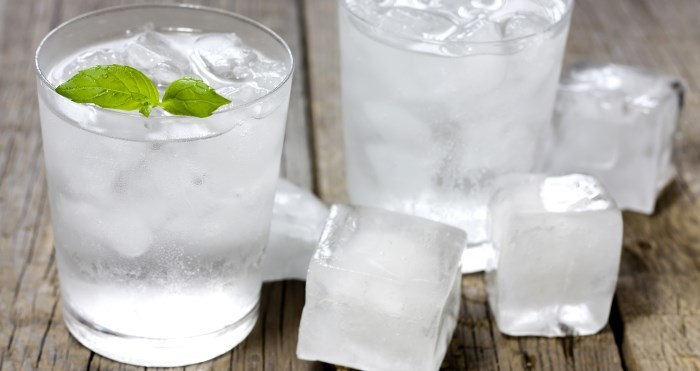 ice from ice machine