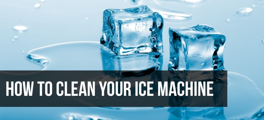 How to Clean an Under Counter Ice Maker