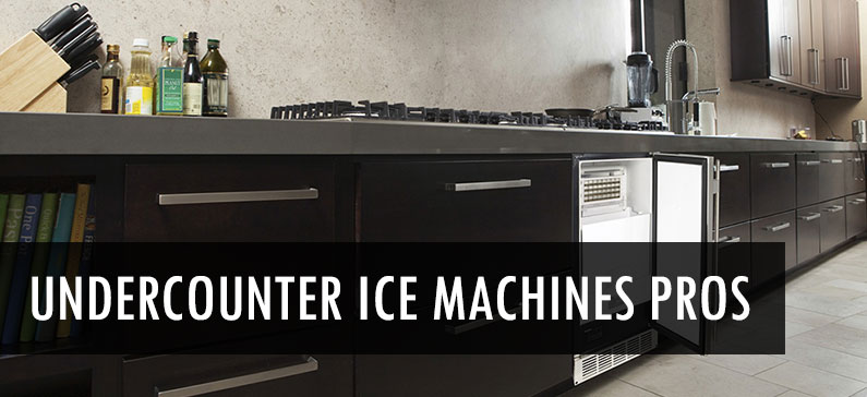 4 Advantages of Undercounter Ice Machines