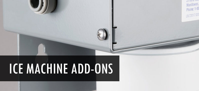 4 important ice machine add-ons
